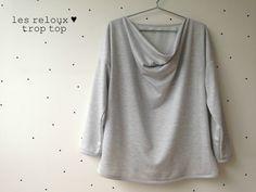 TROP TOP Femme Version C, patron de couture Ivanne.S, by Les Reloux
