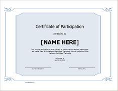 Certificate Of Participation Template Doc Certificate Of Participation Template Doc . Certificate Of Participation Template Doc . Kids Award Certificate Template Falep Midnightpig Co Certificate Of Participation Template, Blank Certificate Template, Certificate Of Completion Template, Certificate Format, Award Template, Printable Certificates, Certificate Border, Receipt Template