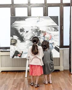 """""""New Mankind exhibition @artfoolygallery #bucharest #open until #june 29th #AlfredRece #romanian #contemporary #artist #painter #oiloncanvas #painting #present vs #past #young #artlovers #children #redrawing #reality #blackandwhite #color #photo by @mihaitsava @artwall.ro @sergiuchihaia #bucharest #art #events #artgram #contemporarypainting #newmankind #curator @ancanegescu #artfoolyartistsandfriends"""" by @ancanegescu. #이벤트 #show #parties #entertainment #catering #travelling #traveler…"""