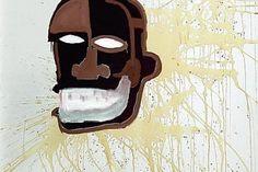 Guy Pieters Gallery : Jean Michel Basquiat, « Untitled (Head) », 1986.