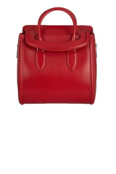 Alexander McQueen Heroine Large Polished Leather Tote, $2,595; net-a-porter.com