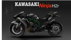 KAWASAKI NINJA - H2r    -   Time Lapse    (  Design desenho industrial )