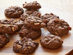 Sunny's German Chocolate Cake Cookies from FoodNetwork.com