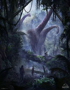 Forêt perdu - Dinosaure