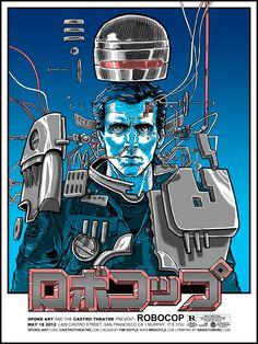 Robocop by Tim Doyle
