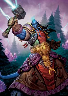 Phadalus the Enlightened  World of Warcraft Trading Card Game - Through the Dark Portal
