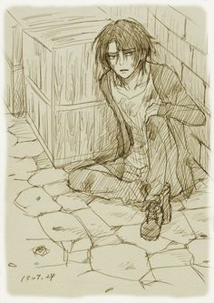 Rivaille was hot even underground! *NOSEBLEED!!!!!!*