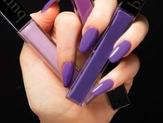Butter London and Pantone have joined forces to co-create a collection featuring Ultra Violet, the Pantone Color of the Year 2018 and harmonizing hues.