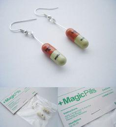 Cute! nurse earrings! Want, Need, Love?