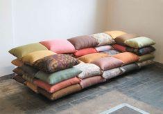 Kunstvoll Wohnen: Ein Sofa zum selbermachen