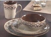 American Atelier Mehdi 16-Piece Dinnerware Set.  Add elegance to your table.