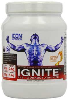 Description  Whether you train in the gym, on the field or in the ring, IGNITE is a no smoke and mirrors pre workout amplifier built for the modern athlete that demands MAXIMUM OUTPUT & PERFORMANCE, KILLER FOCUS, and UNBRIDLED STRENGTH & MUSCULAR ENDURANCE. Built on full label transparency and BIG clinical dosages the ingredients in IGNITE work synergistically to make sure you are hitting MORE reps with LESS recovery between each set EVERY training session. ICON's IGNITE is RELIABLE…