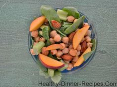 Summertime Peach and Cucumber Salad