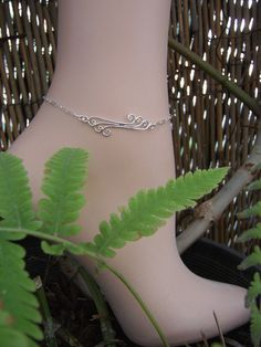 Items similar to Sterling Silver Anklet, Silver Ankle Bracelet on Etsy Ankle Braclets, Silver Ankle Bracelet, Ankle Jewelry, Bracelets, Wire Wrapped Jewelry, Wire Jewelry, Jewelery, Sterling Silver Anklet, Silver Anklets