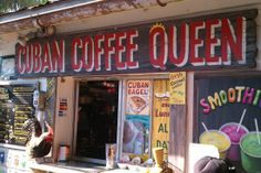 Cuban Coffee Queen in Key West has the best Cafe con leche