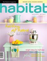 Habitat Magazine - inspiring decorating ideas | Resene Paints Organic Matter, My Favorite Color, Light Colors, Habitats, Things To Come, Retro, Refurbishment, Summer