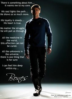 Okay, I think I have this how I want it now. I hope y& enjoy! Poem by reddesilets Photo source: TrekCore Star Trek Bones, Urban Star, Leonard Mccoy, Maladaptive Daydreaming, Star Trek Reboot, Watch Star Trek, Star Trek Into Darkness, The Final Frontier, Karl Urban