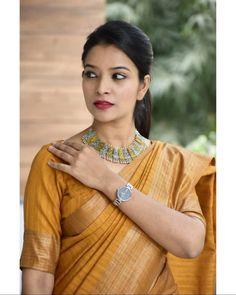 Best Brand To Shop Exceptional Formal Wear Sarees Saree Jacket Designs, Saree Blouse Neck Designs, Sari Blouse, Saree Wearing Styles, Saree Styles, Blouse Styles, Formal Saree, Simple Sarees, Saree Models