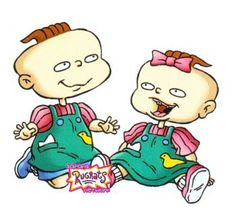 Phil and Lil Phil And Lil Rugrats, Rugrats All Grown Up, Rugrats Characters, Comic Book Characters, Nickelodeon Cartoons, Funny Cartoons, Cartoon Art Styles, Cartoon Drawings, Cartoon Charecters