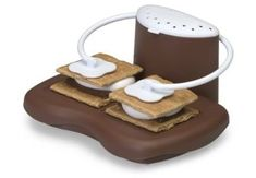 Brilliant... a Microwave Smores Maker for when you get the craving.
