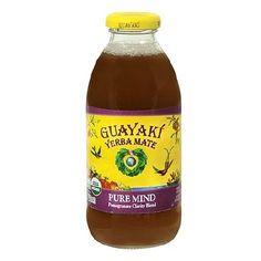 Guayaki Yerba Mate Drink Pure Mind Pomegranate, 12 pk - 16 oz.
