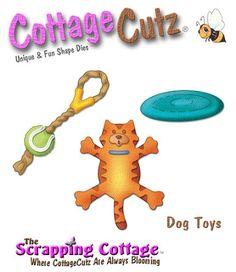 Cottage Cutz-3x3 Dies-Dog Toys