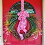 UNBELIEVABLY simple tutorial for a gorgeous Spring Grass Wreath by 3 Little Greenwoods
