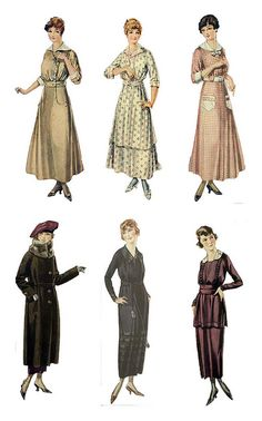 free collage sheet by Padjette, via Flickr vintage fashion plate