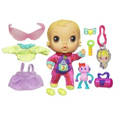 Amazon.com: Baby Alive Crib Life Themed Collection - Robot, Lily Sweet: Toys & Games