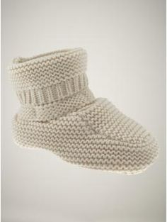 baby gap knit booties