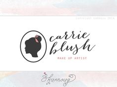 Custom Premade Makeup Artist Logo Design Cosmetic Logo by karnoug