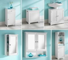 Maine Bathroom Furniture clean Lines and a crisp white finish