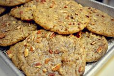 Chewy Pecan Supreme Cookies from Great American Cookies