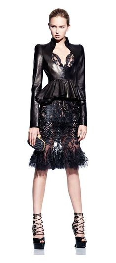 Simply....Leather and Lace!!