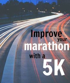 Have you ever considered that racing shorter distances could improve your marathon pr? Find out how and why a will improve marathon performance Running On Treadmill, Running Workouts, Running Tips, Fun Workouts, Workout Gear, Running Quotes, Running Motivation, Course À Obstacles, Jogging