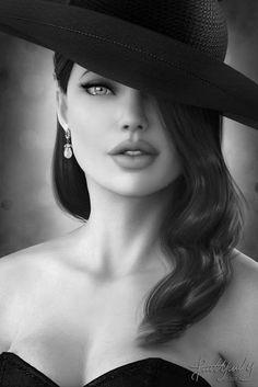 Angelina Jolie ™ alwaraky - Michael's Look and Pleasure - . - Angelina Jolie ™ alwaraky – Michael's Look and Pleasure – - Portrait Photos, Female Portrait, Beautiful Eyes, Beautiful People, Beautiful Women, Glamour Photography, Portrait Photography, Makeup Photography, Fashion Photography