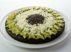 Denny Chef Blog: Torta scioglievole al cioccolato e carambola