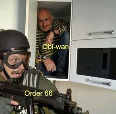 Obi wan Order66 #starwars #prequelmemes