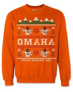 Player Specific Ugly NFL Christmas Sweaters | SportsGrid #Omaha #Manning
