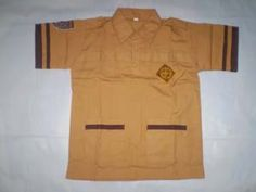 Baju Pramuka SD Putra Putri No 8  Bahan oxford  Ukuran: 42cm x 55cm ( Lebar Dada x Panjang Baju) http://tokoyuan.com/seragam-laki/baju-pramuka-sd-no-8/