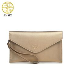 Aliexpress.com : Buy PMSIX Fashion Women Envelope Clutch Split Leather 2017  Brand Designer European Style Ladies Wristlet Clutch Purse P410010 from Reliable clutch purse suppliers on Pmsix Official Store