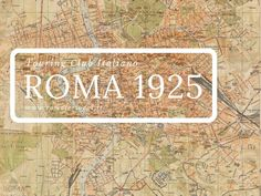 Roma Touring Club Italiano (1925)