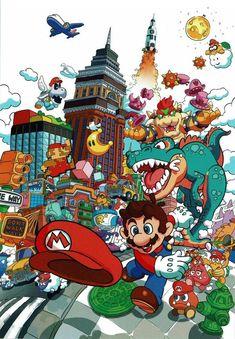 14 Meilleures Images Du Tableau Personnage Mario