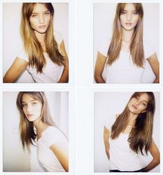 Natural Beauty. once my bangs grow out a bit, my hair will be this long and i will style it like this!