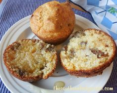 Sausage and Cheese Grits Muffins - I know my hubby will love these, and he'll never know there are grits in them. :D