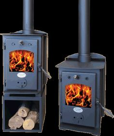 Tiny House Living: Little Sparky Multi-Fuel Stove from Wagener Multi Fuel Burner, Multi Fuel Stove, Tiny Wood Stove, Tiny House Appliances, Tiny House Furniture, Tiny House Living, Rv Living, Living Room, Wood Burning Fires