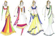 Archana Kochhar for BFW 2011 - Fashionfad