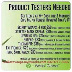 Lorilovewraps.myitworks.com ultimate body applicator itworks results