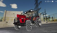 Download Zetor 7745 Beta mod. After testing all the spare parts will go to the renovation where it gets a new hood with raised suction and after consideration Spare Parts, Consideration, Farming, Monster Trucks, Tractor