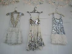 sequin vintage dresses
